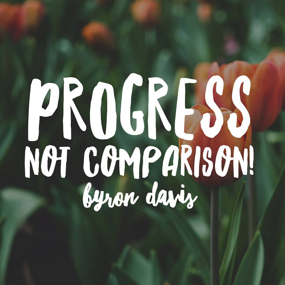 Progress Not Comparison!