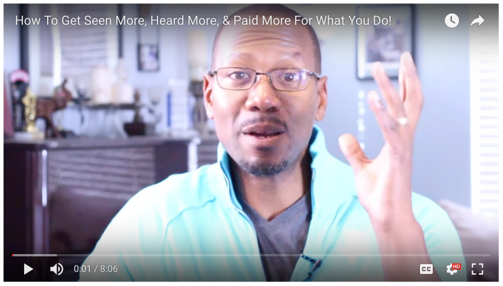 How To Get Seen More, Heard More, and Paid More For Your Knowledge & Expertise!